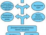 Рис. 1. Общая структура системы поддержки процессов СМК.