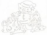 Предыдущая.  Следующая.  Образцы зимних вытынанок на окна..  Блоги мам на CafeMam.ru.