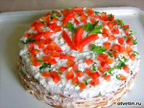Как приготовить закусочный кабачковый торт? - Таисия Олеговна Кучина