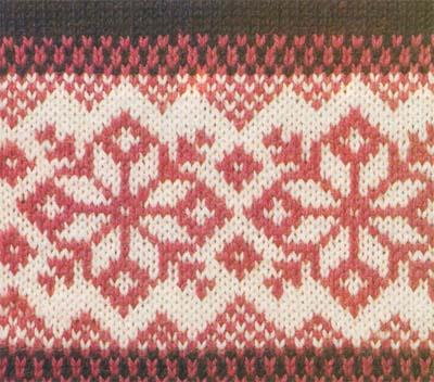 вязаная спицами носки схемы описание мужские с норвежскими узорами.