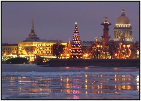 Новый год в Санкт Петербурге