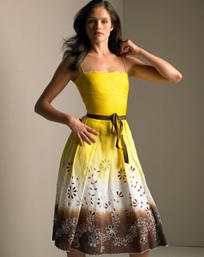 выкройки модных повседневных платьев 2012