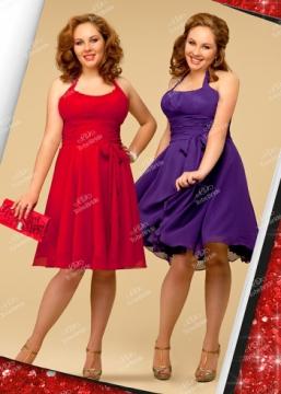 нарядные платья больших размеров.