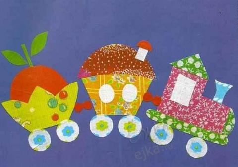 Аппликации крючком - подборка схем, зима новый год картинки для детей.
