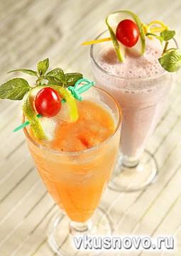 Рецепты напитков, приготовление безалкогольных и алкогольных напитков...
