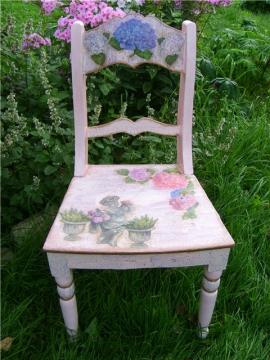 реставрируем стул - Надежда Андреевна Тихонова.