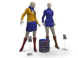 Скачать 3D models манекен женский.  Качественные 3D модели манекенов.